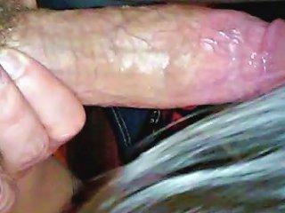 Krista Hodkinson Sucks Cock Swallows Cum